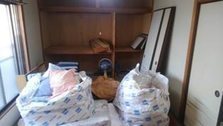 向日市京都府N様様の不用品回収前のお部屋の画像