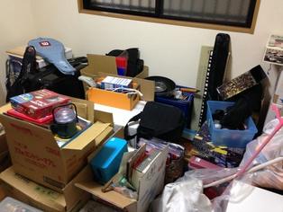 長岡京市京都府M様様の不用品回収前のお部屋の画像